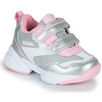 Schoenen Meisjes Lage sneakers Primigi SUZZI Zilver / Roze