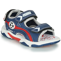 Schoenen Jongens Sandalen / Open schoenen Primigi MATHIS Marine / Rood