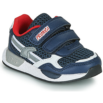 Schoenen Jongens Lage sneakers Primigi PETIT Marine / Rood