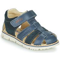 Schoenen Jongens Sandalen / Open schoenen Primigi PIETRA Blauw