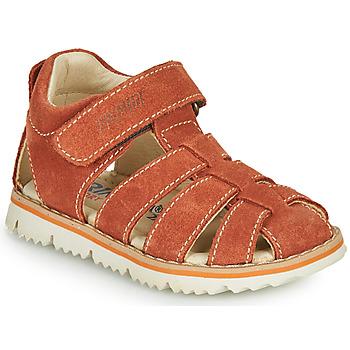 Schoenen Jongens Sandalen / Open schoenen Primigi KANNI Brown