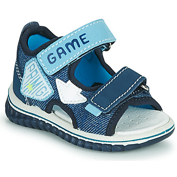 Schoenen Jongens Sandalen / Open schoenen Primigi FOUTTA Blauw