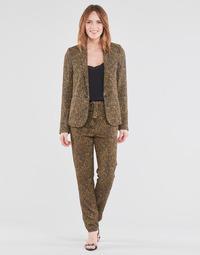 Textiel Dames Losse broeken / Harembroeken Ikks BS22085-75 Brown