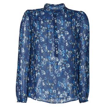 Textiel Dames Overhemden Ikks BS13175-49 Marine