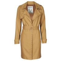Textiel Dames Trenchcoats Ikks BS42025-63 Noisette