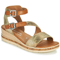Schoenen Dames Sandalen / Open schoenen Remonte Dorndorf BALANCE Goud / Brown