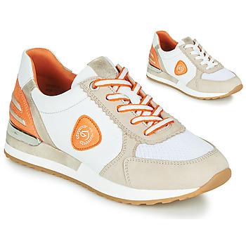 Schoenen Dames Lage sneakers Remonte Dorndorf POLLUX Wit / Grijs / Orange