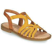 Schoenen Dames Sandalen / Open schoenen Remonte Dorndorf SANDA Geel / Brown