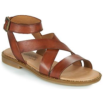 Schoenen Dames Sandalen / Open schoenen Remonte Dorndorf POLLY Brown