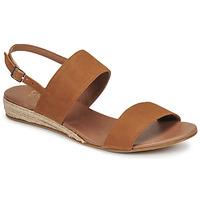 Schoenen Dames Sandalen / Open schoenen Casual Attitude OLIVE  camel