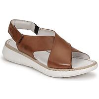 Schoenen Dames Sandalen / Open schoenen Casual Attitude ODILE  camel