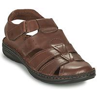 Schoenen Heren Sandalen / Open schoenen Casual Attitude ODOUNE Brown