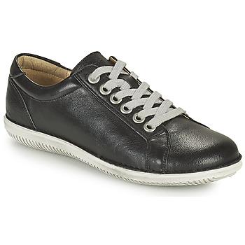Schoenen Dames Derby Casual Attitude OULETTE Zwart