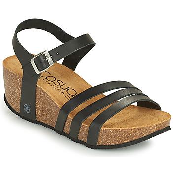 Schoenen Dames Sandalen / Open schoenen Casual Attitude OUDINE Zwart