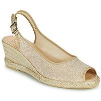 Schoenen Dames Sandalen / Open schoenen Casual Attitude MADELEINE Goud