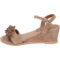 Schoenen Dames Sandalen / Open schoenen Adriana Del Nista Sandales BK996 Marron