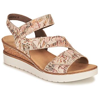 Schoenen Dames Sandalen / Open schoenen Rieker CASSIE Multicolour
