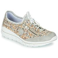Schoenen Dames Lage sneakers Rieker GRISSA Grijs / Multicolour