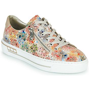 Schoenen Dames Lage sneakers Rieker FROLLI Multicolour