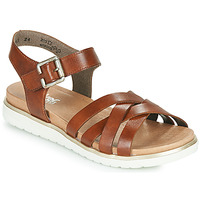 Schoenen Dames Sandalen / Open schoenen Rieker NORRA Brown