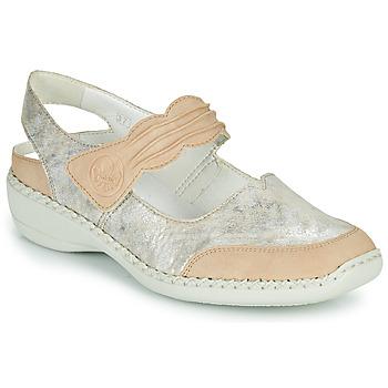 Schoenen Dames Sandalen / Open schoenen Rieker ALINA Zilver