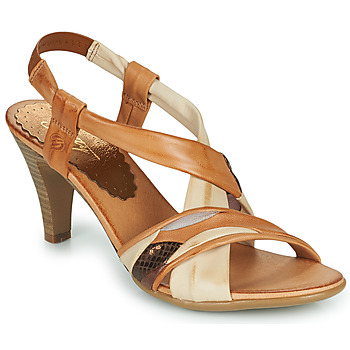 Schoenen Dames Sandalen / Open schoenen Betty London POULOI Cognac
