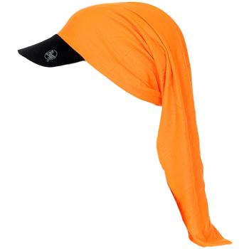 Accessoires Pet Buff Tubulaire avec visière Orange