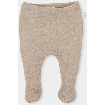Textiel Kinderen Broeken / Pantalons Tutto Piccolo Jambières Brown