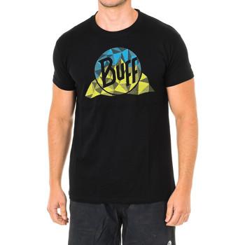 Textiel Heren T-shirts korte mouwen Buff T-shirt m / court Zwart