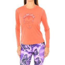 Textiel Dames T-shirts met lange mouwen Buff T-shirt long Rood