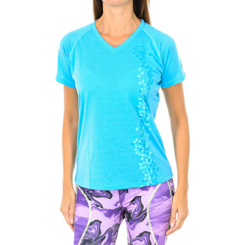 Textiel Dames T-shirts korte mouwen Buff T-shirt court / s Blauw
