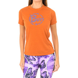 Textiel Dames T-shirts korte mouwen Buff T-shirt court / s Orange
