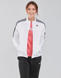 Textiel Dames Trainings jassen adidas Performance MARATHON JKT W Wit