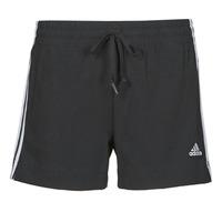Textiel Dames Korte broeken / Bermuda's adidas Performance W 3S SJ SHO Zwart