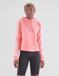 Textiel Dames Sweaters / Sweatshirts adidas Performance W 3S FT CRO HD Roze