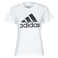 Textiel Dames T-shirts korte mouwen adidas Performance W BL T Wit