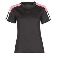 Textiel Dames T-shirts korte mouwen adidas Performance W CB LIN T Zwart