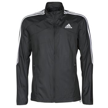 Textiel Heren Trainings jassen adidas Performance MARATHON JKT Zwart