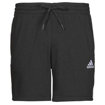 Textiel Heren Korte broeken / Bermuda's adidas Performance M 3S FT SHO Zwart