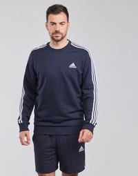 Textiel Heren Sweaters / Sweatshirts adidas Performance M 3S FT SWT Blauw