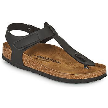 Schoenen Kinderen Slippers Birkenstock KAIRO HL Zwart