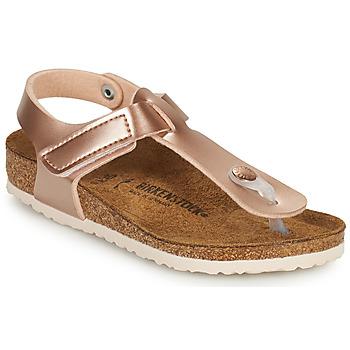 Schoenen Meisjes Slippers Birkenstock KAIRO HL Roze