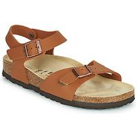 Schoenen Meisjes Sandalen / Open schoenen Birkenstock RIO Brown