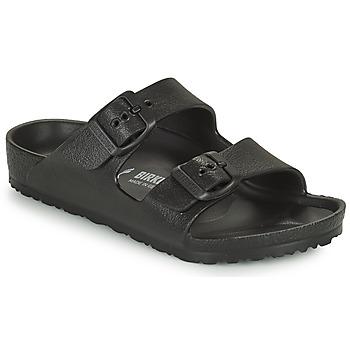 Schoenen Kinderen Leren slippers Birkenstock ARIZONA EVA Zwart