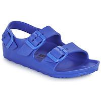 Schoenen Jongens Sandalen / Open schoenen Birkenstock MILANO EVA Blauw