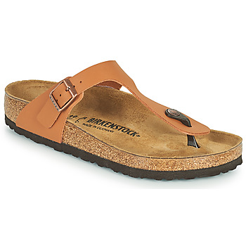 Schoenen Dames Slippers Birkenstock GIZEH Brown
