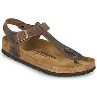 Schoenen Dames Slippers Birkenstock KAIRO Brown