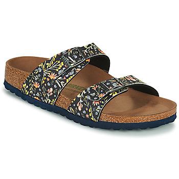 Schoenen Dames Leren slippers Birkenstock SYDNEY Blauw