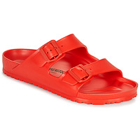 Schoenen Heren Leren slippers Birkenstock ARIZONA EVA Rood