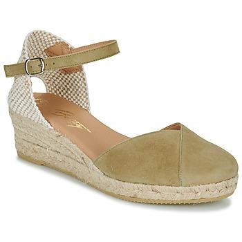 Schoenen Dames Sandalen / Open schoenen Betty London INONO Kaki